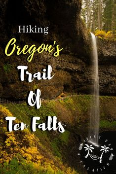 Looking for an epic hike in Central Oregon? This article outlines hiking Oregon's Trail Of Ten Falls, one of Oregon's spectacular hikes! Vacations To Go, Vacation Trips, Vacation Ideas, Hiking Photography, Oregon Trail, United States Travel, Travel Usa, Beach Travel, Travel Pictures