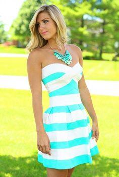 Bandage Dress in Mint