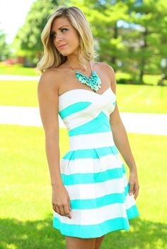 Bandage Dress in Mint