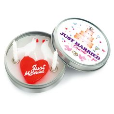 Just Married - Kerze - Geschenke von Geschenkidee