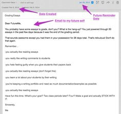 Evernote Use #20- Sending Emails to Your Future Self Recently, Evernote added a very cool feature– reminders. For any note, click the alarm ...