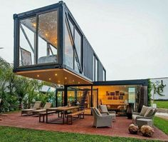 Looking forward to the day I can afford a glass house like this. All I need is some land.