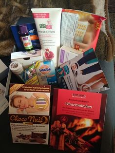 Simones Produkttest: Medpex Wohlfühlbox Dezember 2014