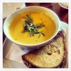 Armsby Abbey's Soup of the Day - Vegetable - 1/27/2013