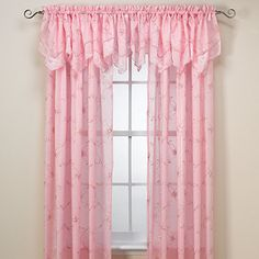 Laya Pink Window Panels - BedBathandBeyond.com  This is THE one!!! LOVE it