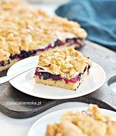 Kruche Ciasto z Mrożonymi Owocami i Pianką Cherry Pie Bars, Apple Cake, Healthy Sweets, Sugar Cookies, Food Videos, Deserts, Clean Eating, Food And Drink, Tasty