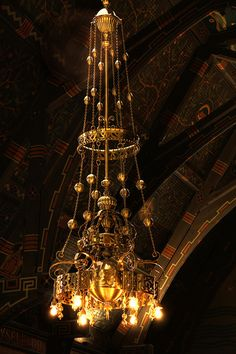 Tiffany Chandelier by eflon, via Flickr