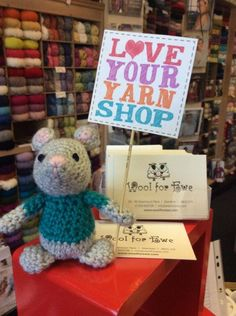 """Wool For Ewe """"Take a look at last year's Yarn Shop Day to see what's in store on Saturday 30th April!"""