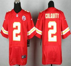 Nike Kansas City Chiefs Jersey 2 Dustin Colquitt Red Elite Jerseys