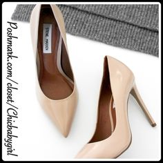 "NEW✨STEVE MADDEN PROTO PUMP The pointed toe pump to die-for and add that sassy-chic look to any outfit. These leather heels wilł get you where you need to go in style. Looks awesome with your office attire or street-savvy style. Cushioned foot bed Heel Height 4"" these lil lovelies are TRUE TO FIT. Steve Madden Shoes Heels"