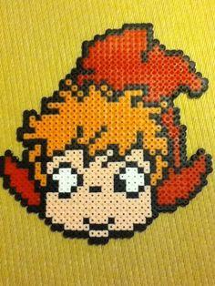 Ponyo perler beads by mi ☆ wa