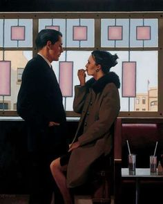 Classy Sentimental Scenes Jack Vettriano Paints Romantic Depictions with a…