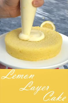 How to make a 3 tier lemon cake with an ombre buttercream frosting perfect for wedding cakes preppykitchen weddingcakes desserts lemoncake ombrefrosting zitronenkuchen vom blech super saftig und mega lecker schnelles einfaches rezept Cake Recipes From Scratch, Easy Cake Recipes, Baking Recipes, Dessert Recipes, Baking Desserts, Lemon Cake From Scratch, Dessert Blog, Layer Cake Recipes, Baking Cakes