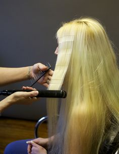 Beautiful Bride Hair: Elegant High Bun by Sherri Jessee Crimped Hair, Bulk Up, High Bun, Styling Tools, Bride Hairstyles, Beautiful Bride, Hairdresser, Fashion News, What To Wear
