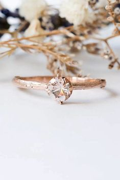 18 Cheap And Stylish Morganite Engagement Rings ❤️ morganite engagement rings solitaire rose gold round ❤️ More on the blog: https://ohsoperfectproposal.com/morganite-engagement-rings/