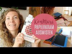 PAPIERKRAM AUSMISTEN |KonMari-Methode - YouTube