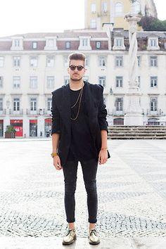 Chauffeur Real Leather Driving basiques men winter fashion basiques Black