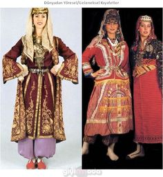 Türkiye Geleneksel Kıyafetleri