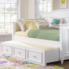 Campbell Day Bed with Trundle by Kidz Gear