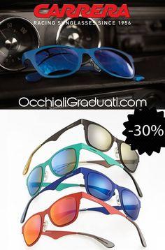"""Carrera occhiali Primavera/Estate 2014 -30% su OcchialiGraduati.com """"Spedizione Gratuita"""" #carrera #shopping #style #ss2014"""