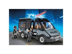 Playmobil City Action Police Van with Lights and Sound 6043
