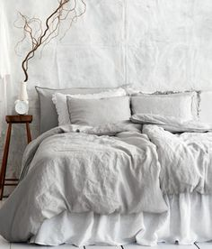 Bed Linen | H GB - Linen bedsheets! yes please