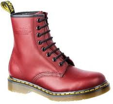 Shop Women's Boots on the official Dr. Martens like the Women'S 1460 Smooth, null, and 1460 Pascal Virginia in a variety of leathers, textures and colors. Dr. Martens, Doc Martens Stiefel, Red Doc Martens, Doc Martens Boots, Black Combat Boots, Red Boots, Dr Martens Store, Casual Boots, Fashion Boots