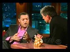 "▶ Lawrence Fishburne recites E.E. Cummings' ""Freedom Is a Breakfast Food"" on Craig Ferguson 5-13-09 - YouTube"