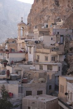 Maaloula, Syria~~ Ancient Aramaic language is still spoken here.