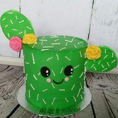 Cactus cake dessert Arizona mexico roses cute cakes birthday cake festive cuties cakelettes mini cakes custom