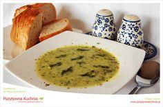 Zupa szparagowa z migdałami - #przepis na zupę ze szparagów  http://pozytywnakuchnia.pl/zupa-szparagowa-z-migdalami/  #szparagi #zupa #obiad #kuchnia