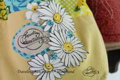 Small Tote Bag Embellished with Floral by TravelingSanctuary, $30.00