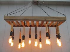 repurposed furniture before and after | Crate Board Light and More Crate Furniture 2/25/14