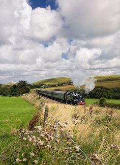 raindropsonroses-65: Swanage Railway, Near Corfe Castle, Dorset, England by Laurence Cartwright on Flickr