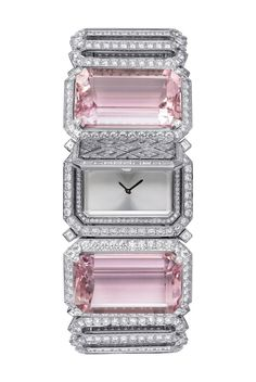 Cartier - Kunzite and diamond secret watch. If you can give it,you SHOULD ! You don't need a reason other than LOVE !