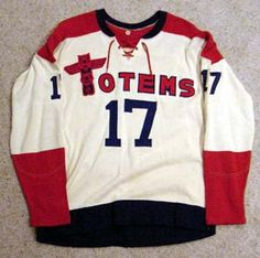 Seattle Totems WHL hockey jersey