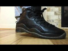 8bfe38fba6677f On Feet Review  Drake s Air Jordan X Black OVO Stingray (Retro 10)