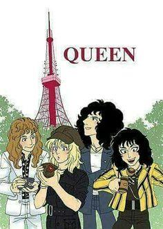 Queen Ii, I Am A Queen, Save The Queen, Queen Banda, Freddie Mercuri, Queen Anime, Queen Drawing, Queens Wallpaper, We Will Rock You