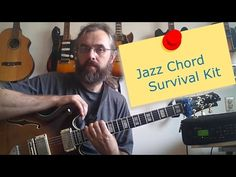 In this lesson I want to give you a few exercises that should make it possible for you to go through a jazz standard without too much trouble. We often spend too much time working on details and forget to apply it to songs and hear how it works in contexts. This is a tutorial about how to play a standard and a few suggestions for songs to check out when you know the exercises. Download a pdf of the examples: http://jenslarsen.nl/jazz-chord-survival-kit/ #guitarlesson #youtube #pdf # guitar