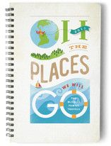 Oh the Places Day Planner, Notebook, or Address Book