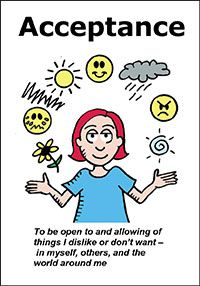 The Happiness Trap Values, Goals and Barriers cards - 1 item | ACT Mindfully | Acceptance & Commitment Therapy Training with Russ Harris