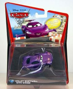 Disney / Pixar CARS 2 Movie 155 Die Cast Car Oversized Vehicle #2 Holley Shiftwell with Wings by Mattel Toys, http://www.amazon.com/dp/B004L2LBGA/ref=cm_sw_r_pi_dp_m9pLrb08RASWE