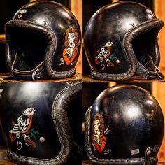 Bmw Legend Tricolor Jet Helmet Vintage Helmet Helmet Retro Helmet