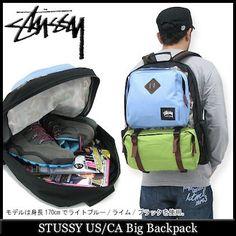 ice field | Rakuten Global Market: Stussy STUSSY us/CA Big backpack (stussy bag bag backpack mens, men's 033114 Steacy) ice filed icefield