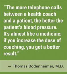 Health Coaching Dramatically Lowers Patients' Systolic Blood Pressure -- American Academy of Family Physicians