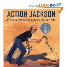 Jackson Pollock book for kids...could also be tied with storytelling...
