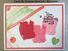 Stampin' Up! Work of Art #workofart #cardsbybs - Card by Brianne Spiersch
