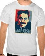 T-shirt blanc effigie de Marx porté par Camille Combal #TPMP