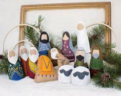 Conjunto Natividad Natividad de la Navidad los por DevelopingToys