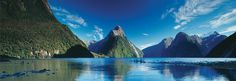 Beautiful views of majestic Mitre Peak in this special timelapse feature. See the activity on Milford Sound as boat cruises, hikers and kayakers do their thing.